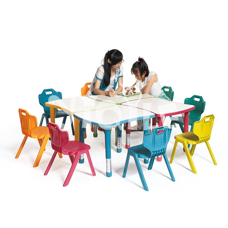 Hot sell can be combined soap model kindergarten tables and chairs for sale