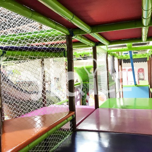 Primitive Tribe Kids Indoor Playground in Morocco