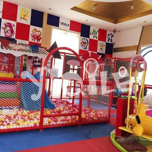 Cartoon Children's Naughty Castle in Malaysia