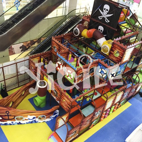 Pirate Ship Model Indoor Amusement Park in Hangzhou China