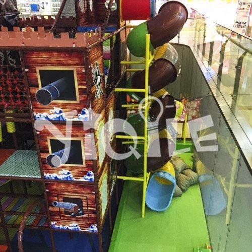 Pirate Ship Model Indoor Amusement Park in Hangzhou China