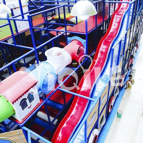 Devil Slide Amusement Park in Shanghai China