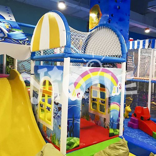 Sea World Children Commercial Indoor Playground Equipment