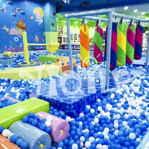 Blue Ocean Indoor Playground in Canada