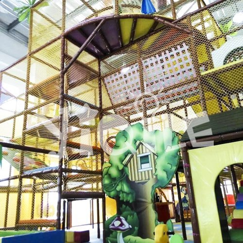 Cartoon Zoo Indoor Playground Equipment in Mexico