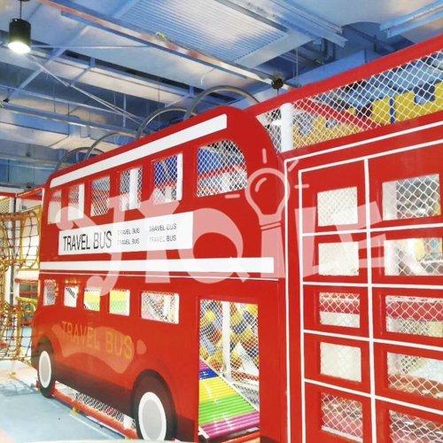 Cartoon Travel Bus Theme Children Indoor Playground