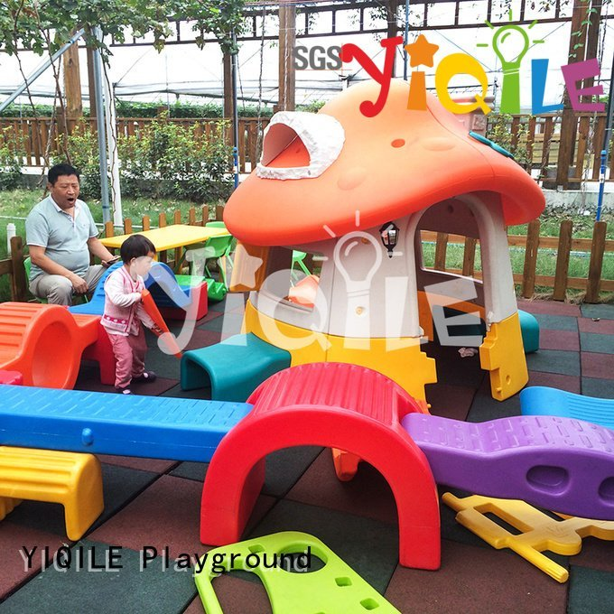 round seat YIQILE kids outdoor play house