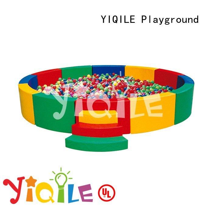 Custom kindergarten swing slide audible kids outdoor play house