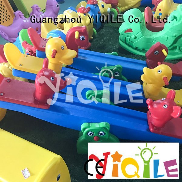 YIQILE supermarket swing slide color chromatic