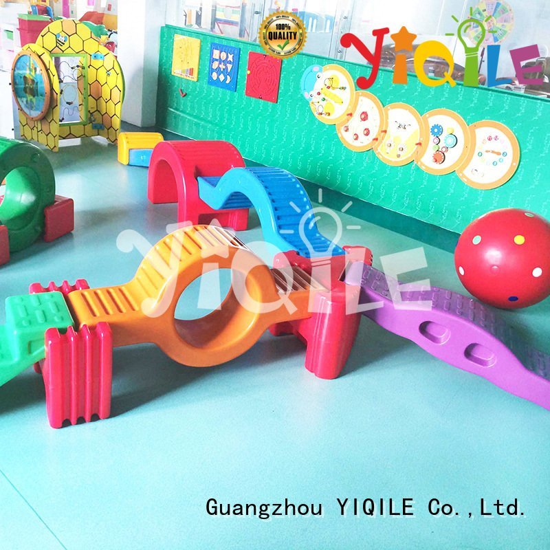 kids outdoor play house quality house OEM swing slide YIQILE