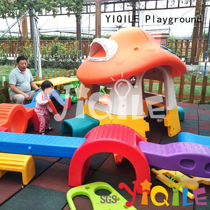 YIQILE Brand sale kindergarten kids outdoor play house hoop forest
