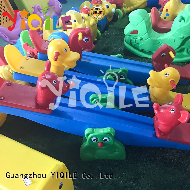 kids outdoor play house huge kindergarten pool basketball YIQILE