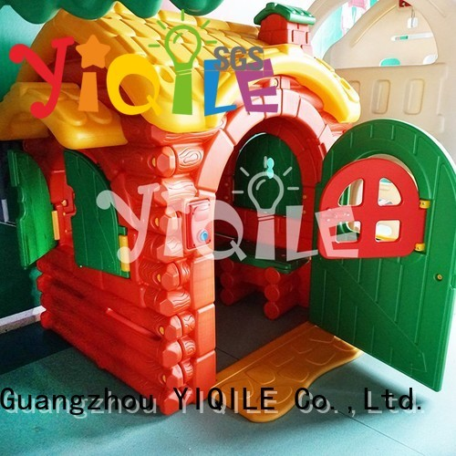 YIQILE Brand modeling lovely bright kids outdoor play house