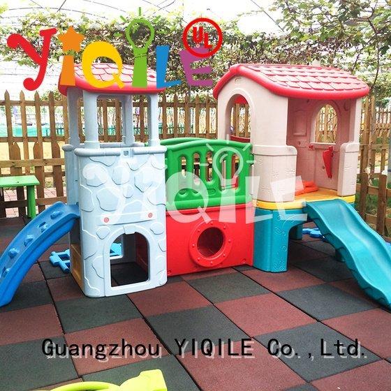 kids outdoor play house lovely YIQILE Brand swing slide