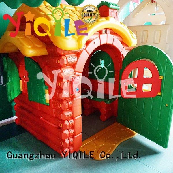 Custom swing slide colorful preschool multifunction YIQILE