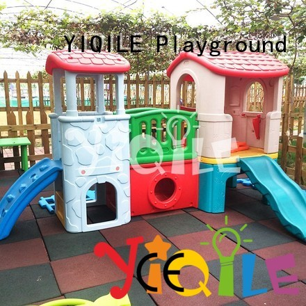 kids outdoor play house slide lovely YIQILE Brand company