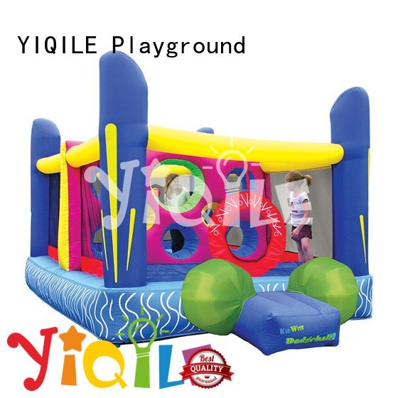 YIQILE inflatable castle jumper kids bouncer top