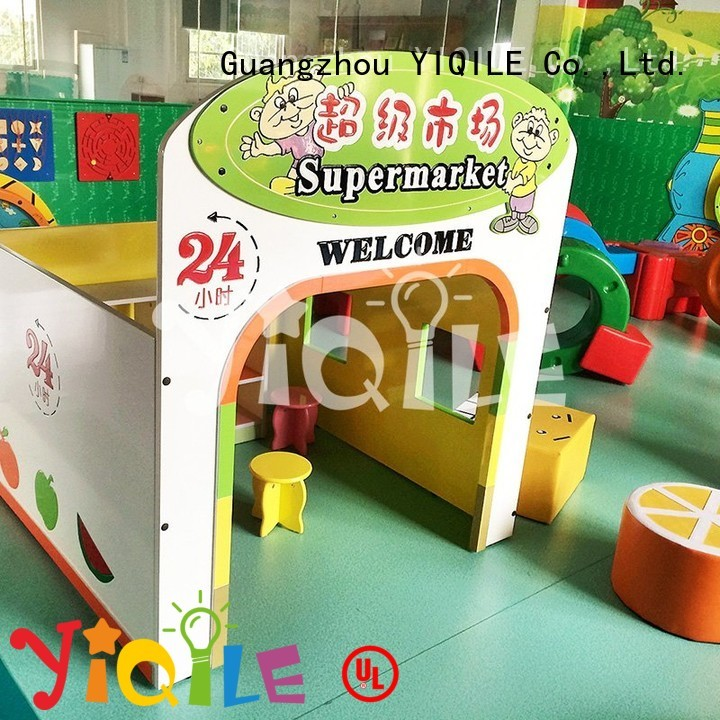 kids outdoor play house blowing soft toy YIQILE Brand swing slide
