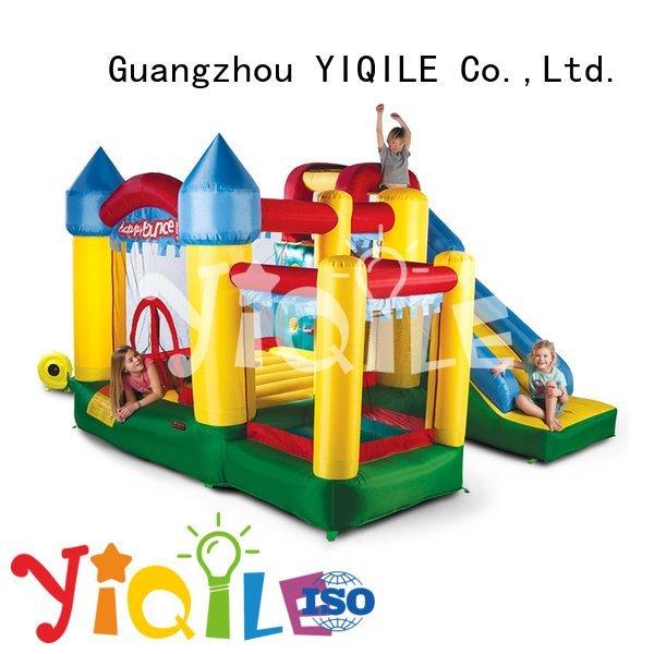kids paradise adventure happy YIQILE bouncy castle manufacturers