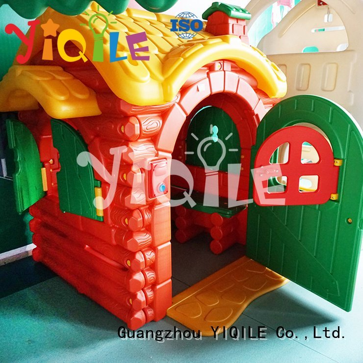 sale soft colorized kids outdoor play house YIQILE