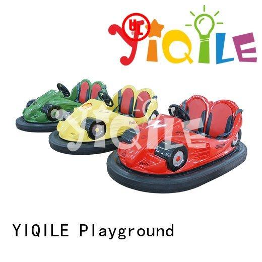 YIQILE amusement park trains for sale bumper battery sale