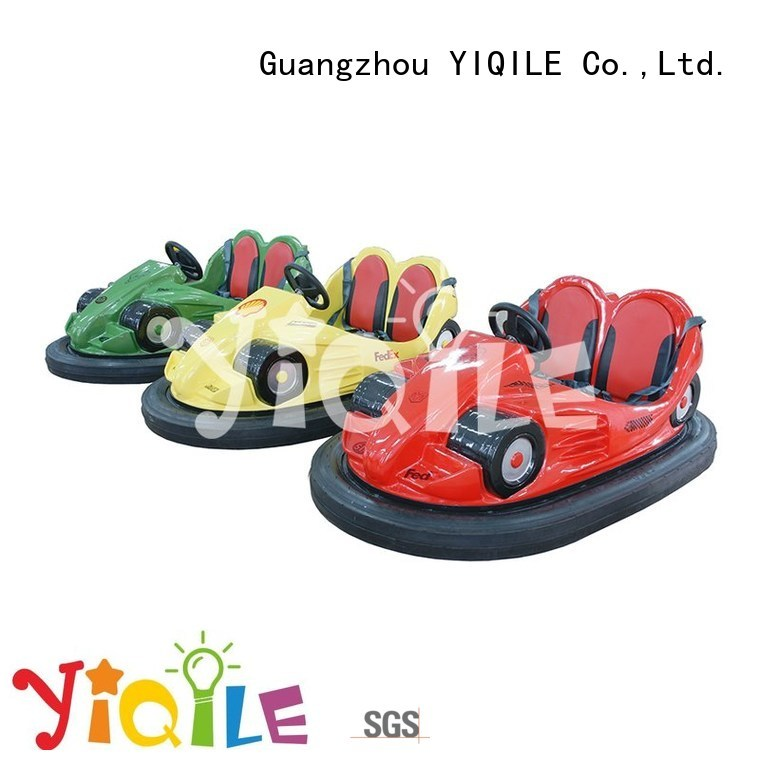 YIQILE Brand luxury kiddie amusement park trains for sale