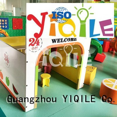 YIQILE swing slide colorful doorbell supermarket seat