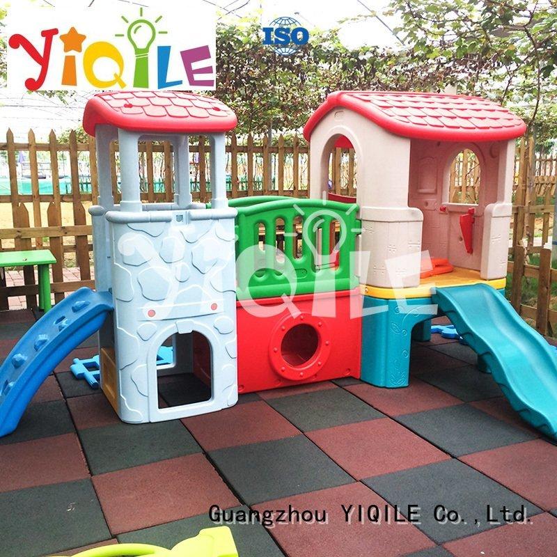 OEM kids outdoor play house molding outdoor global swing slide