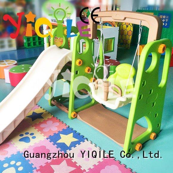 YIQILE swing slide balance outdoor supermarket playhouse