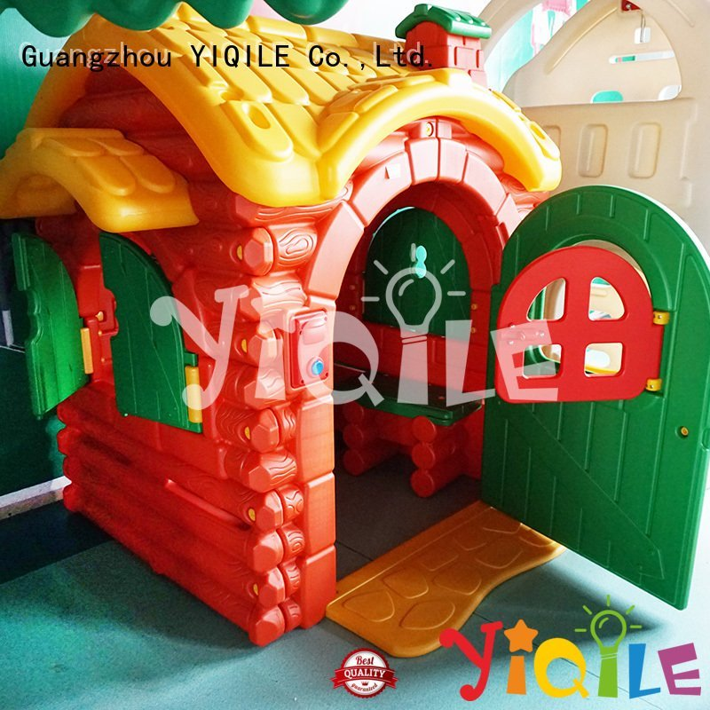 rotational slide child animal YIQILE kids outdoor play house