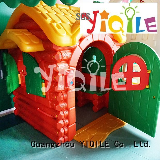 supermarket kids outdoor play house basketball YIQILE
