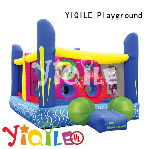YIQILE Brand inflatable toys inflatable castle paradise top