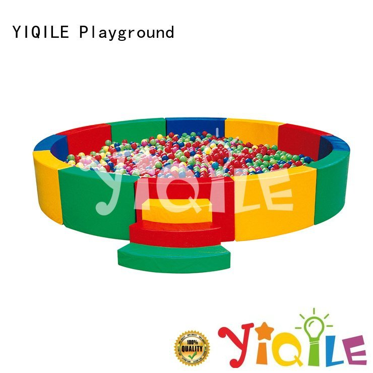 YIQILE Brand house kids outdoor play house doorbell ball
