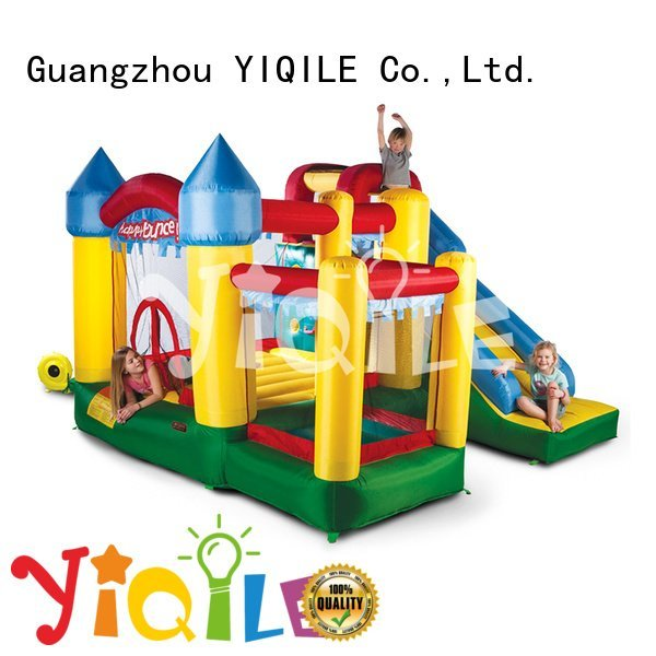 Custom kids inflatable castle happy bouncy castle manufacturers