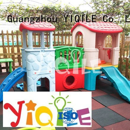 YIQILE single multifunction blowing kids outdoor play house color