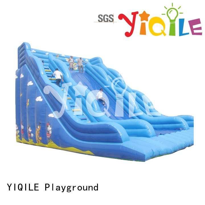 paradise inflatable adventure YIQILE bouncy castle manufacturers