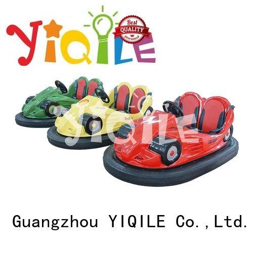cars designed bumper children YIQILE amusement park trains for sale