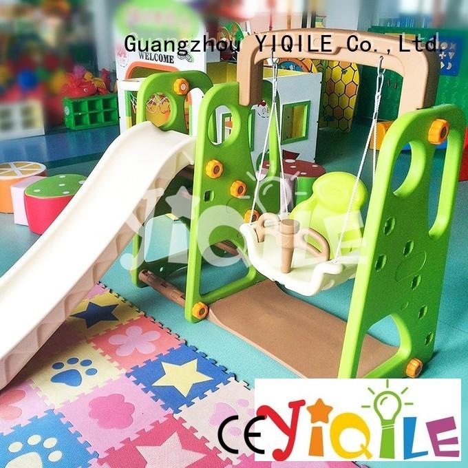 YIQILE Brand balance molding custom kids outdoor play house