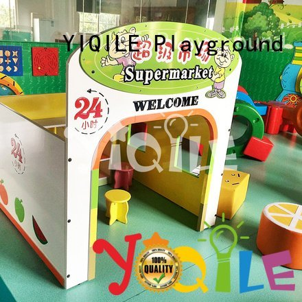 YIQILE Brand kindergarten style single swing slide