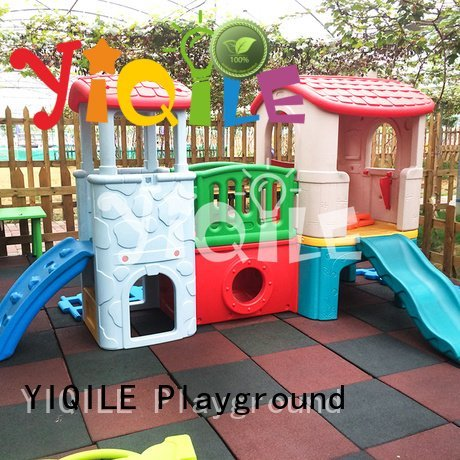 kids outdoor play house blowing swing slide huge YIQILE