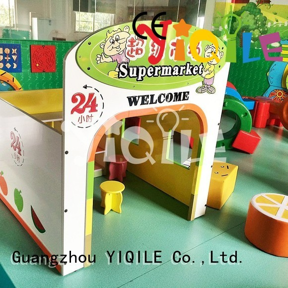 YIQILE Brand blowing technology kids outdoor play house multifunction supplier