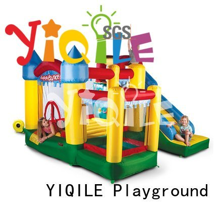 YIQILE Brand castle cute bouncy castle manufacturers slide quality