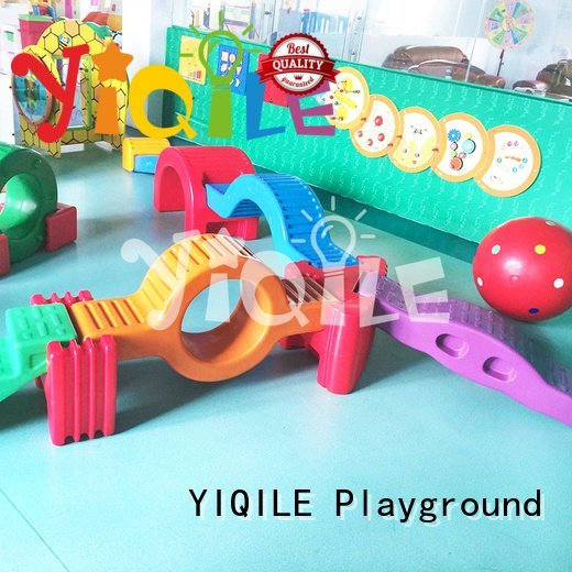 YIQILE mushroom colorized swing slide play doorbell