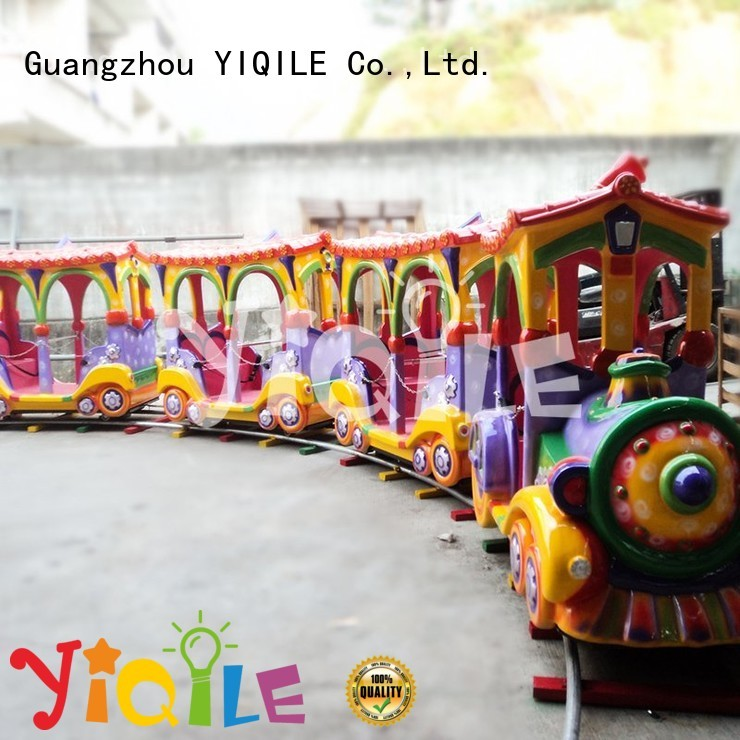 kiddie quality cars amusement park trains for sale YIQILE manufacture