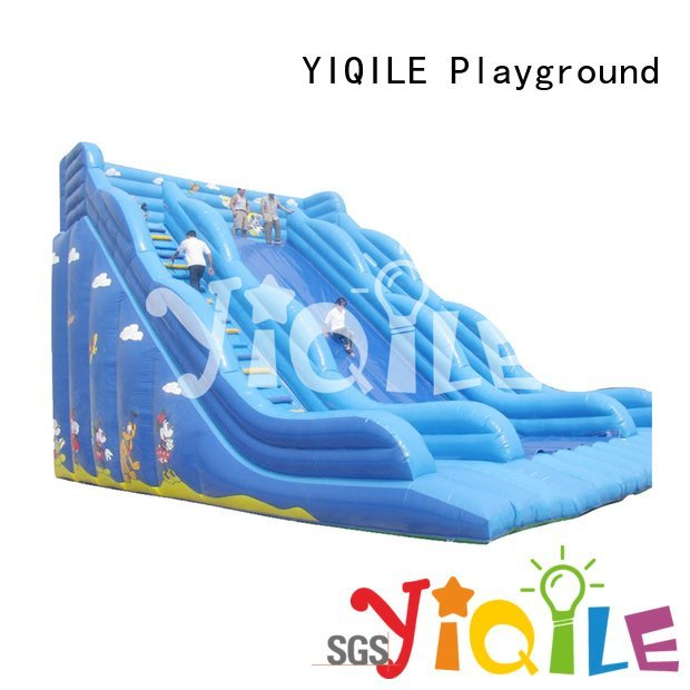 YIQILE bouncy happy inflatable castle quality kids