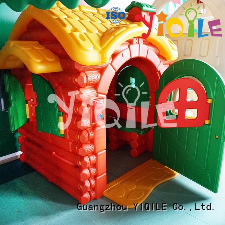 outdoor colorized pool kids outdoor play house YIQILE