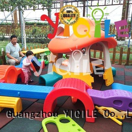 YIQILE Brand outdoor global modeling swing slide